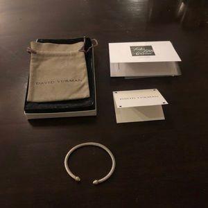 💯 David Yurman Cable Bracelet